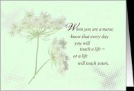 Nurses Day Wildflower card - Product #551221