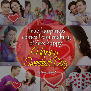 Life Picture Quotes - Happy sweetest day quotes