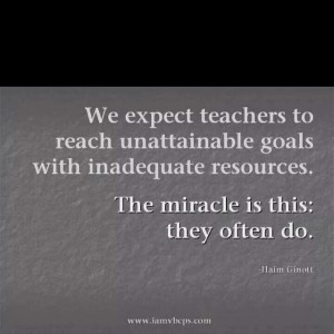 Teacher Quote of the Day!