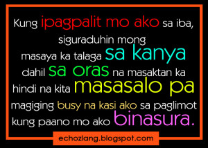 Single Quotes Tagalog
