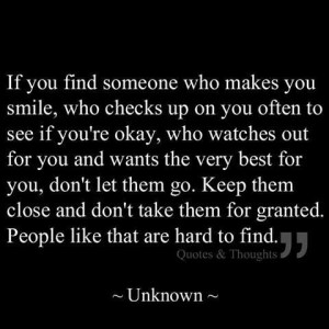 Don't take friends for granted