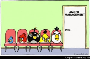 Angry Birds Anger Management funny