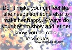 Show A Girl You Dont Care Quotes ~ Quotes this guys a jerk on ...