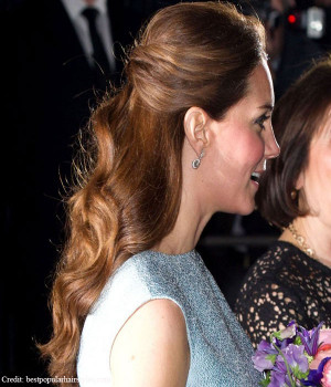 Kate middleton ponytail hairstyles 2014