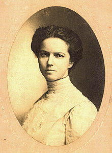 Gilmer in her early 30s