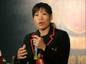 Olympic boxing medal winner MC Mary Kom was also chosen for Padma ...