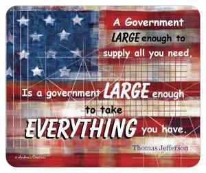Mousepad_usa_flag_thomas_jefferson_patriotic_quote_against_large_govt ...