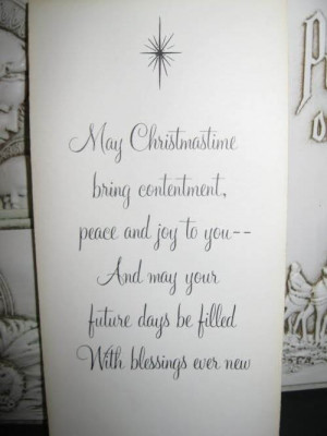 Christmas Card Sayings Quotes and Greetings