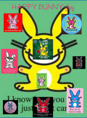 Happy Bunny Birthday Quotes For - happy bunny posters.