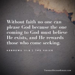 Before we observe Bible verses about faith, take some time to reflect ...