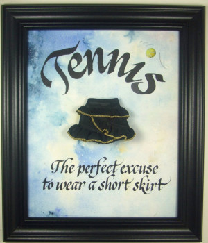 Tennis Gift. Funny sport quote appreciation presentation for partner ...
