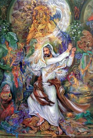 Mahmoud Farshchian Paintings