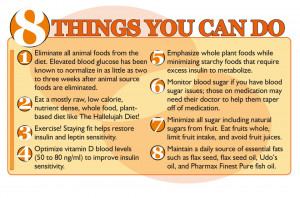 Infographic: 8 Ways to Beat Diabetes