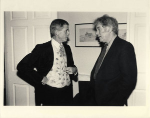 James Merrill and Seamus Heaney.