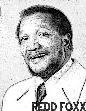 Redd Foxx could read me my tax forms and I'd be on the floor laughing ...