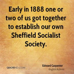 Edward Carpenter Quotes