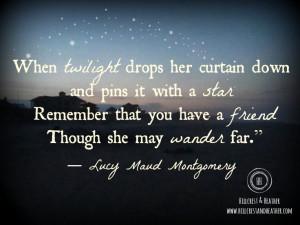 Quotes & Verses} Lucy Maud Montgomery