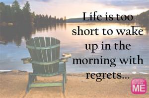 Regrets quote