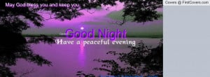 ccGood night peaceful evening cover