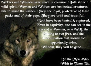 love being a wolf!! And im a cute singal wolf!! *laughs hard*
