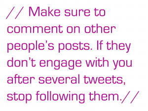 Oh, and don't use the @ symbol in posts without content for the sole ...