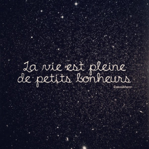 Life is full of little pleasures #french #quotes #typos (Taken with ...