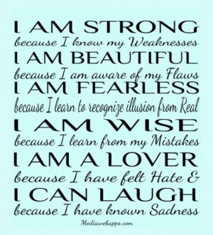 am. Strong Fearless Wise