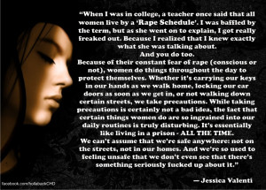 Jessica Valenti on Rape Schedules