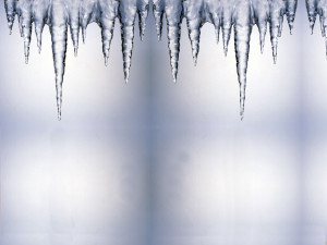 Stock Icicle Background...