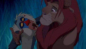 "... can either run from it or learn from it."" – Rafiki, The Lion King"