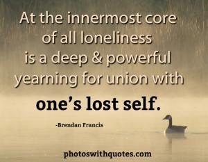 Loneliness Quote
