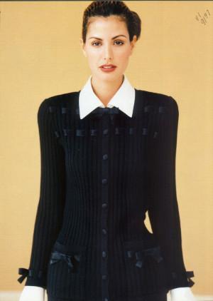 Daniela Pestova Yasmeen Ghauri 1997 Summer Semi Annual Sale