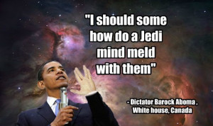Jedi Mind Meld -Quotes from dictator Barock Aboma