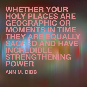 lds quote. #holyplaces