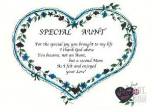 Special Aunt Print