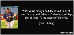 Bad Day at Work Quotes