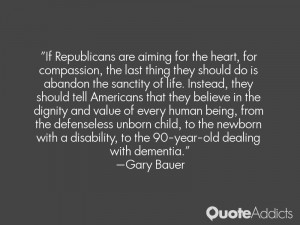 Gary Bauer Quotes