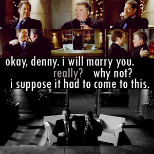 Just Alan Shore and Denny Crane. I loved Boston Legal.