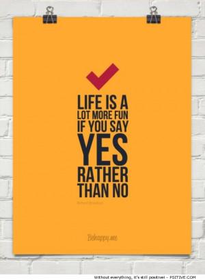 Richard Branson motivational quote