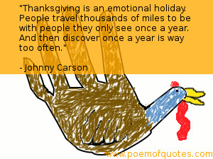 Below are a few great funny quotes on what Thanksgiving is about and ...
