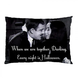 Morticia and Gomez Addmas Quote Pillow cases (set of 2)