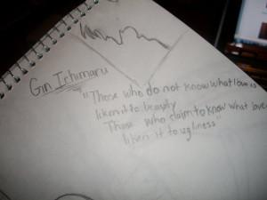 gin ichimaru quote by YourAFoo