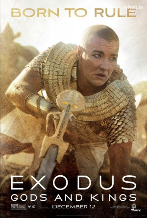 Exodus-Gods and Kings Hollywood Movies Poster 2014, Hollywood Movies ...
