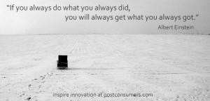 Innovation Inspiration 7: Don't Do What You Always Did