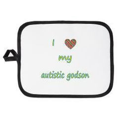 love my godson (2) Potholder Visit Awareness Avenue: http://www ...