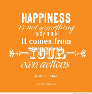 quote about life and happiness