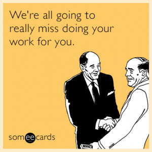 Download farewell quotes coworker leaving work goodbye funny design