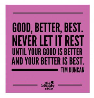 ... Tim Duncan, Favorite Quotes, Inspiration Quotes, Duncan Quotes, Sport