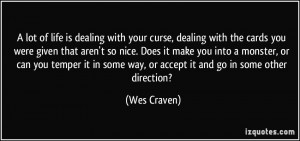 More Wes Craven Quotes