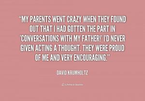 Quotes About Crazy Parents